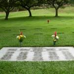 Wake group burial, Punchbowl Cemetery, Honolulu