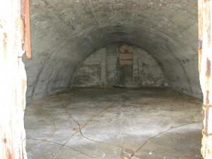 WWII bunker interior