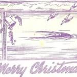 1941 Wake Christmas card, courtesy Don Morgan