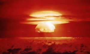 1954 Operation Castle-Bravo Bikini atoll