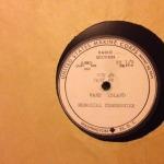 Record label: PB dedication 1953