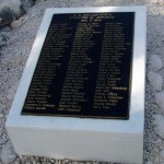 98 plaque near POW Rock