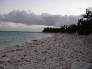 Massacre site, north beach, Wake Island