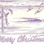 1941 Wake Christmas card, courtesy Don Morgan