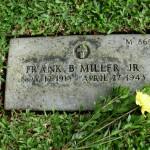 F. B. Miller grave