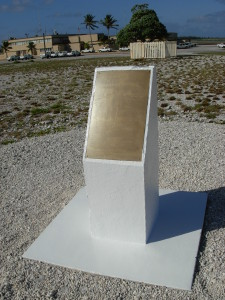 Guamanian memorial on Wake