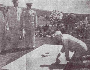 PB dedication 1953