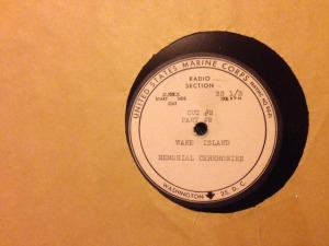 Record label: PB dedication 1953